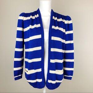 St John Vintage Knit Cardigan Sweater Stripes